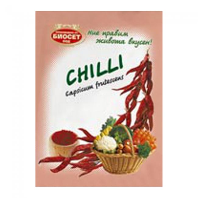 Bioset Chiliflocken 50g