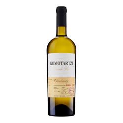 Ein bulgarischer Bononia Gomotartzi Chardonnay Weißwein aus der Donauebene.