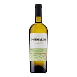 Ein bulgarischer Bononia Gomotartzi Sauvignon Blanc Weißwein aus der Donauebene.