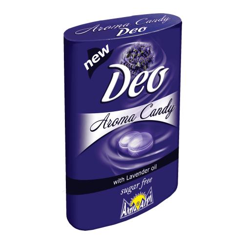Alpi Deo Aroma Bonbons Lavendel Zuckerfrei Box