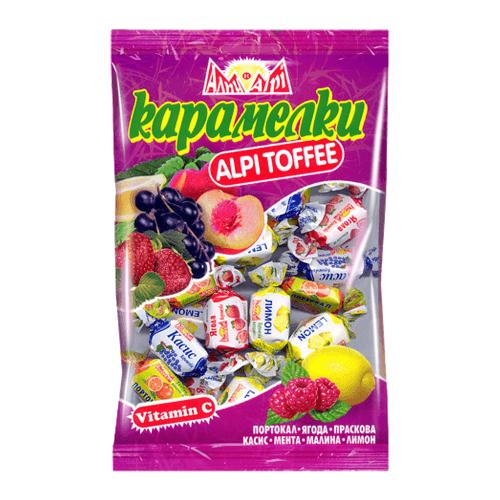 Alpi Karamelki Frucht Mix Toffee Bonbons