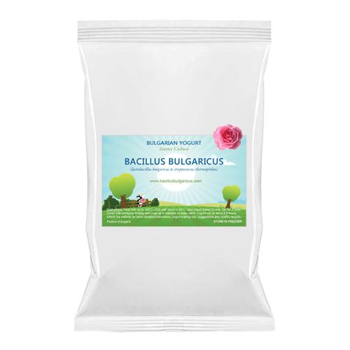 Bacillus Bulgaricus Bulgarische Joghurt Starterkulturen Rose 1L - 4L