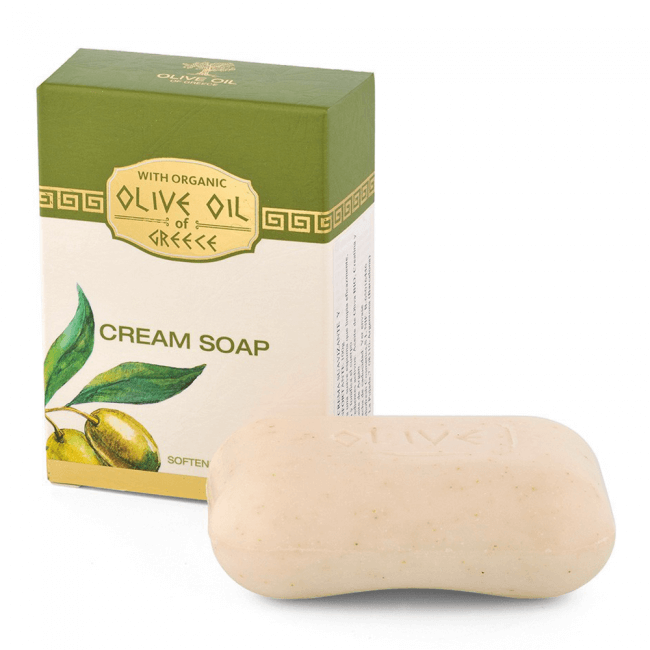 Das ist die Olive Oil of Greece Cream Seife von Biofresh aus Bulgarien.