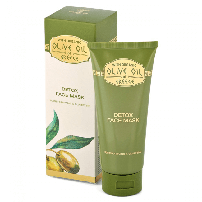 Das ist die Olive Oil of Greece Detox Gesichtsmaske von Biofresh aus Bulgarien.