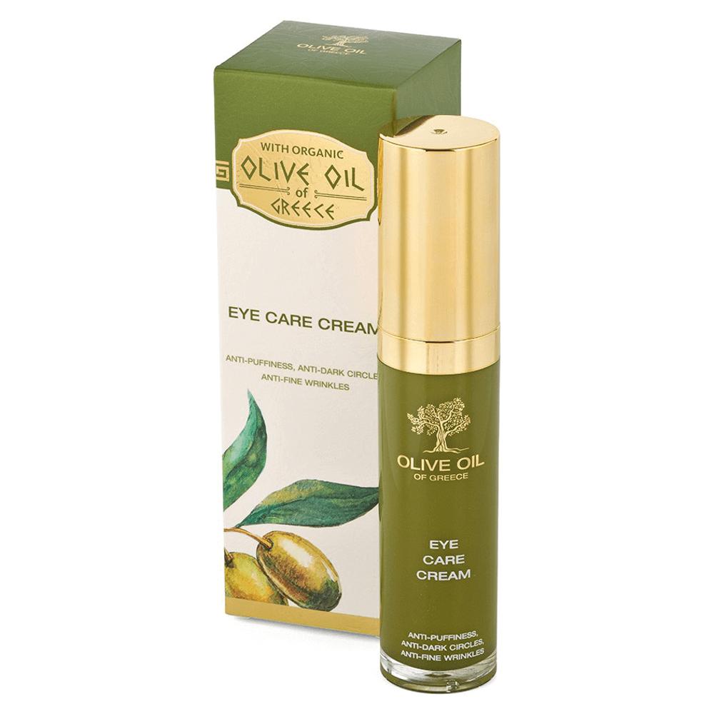 Das ist die Olive Oil of Greece Eye Care Cream von Biofresh aus Bulgarien.