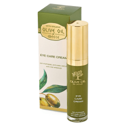 Das ist die Olive Oil of Greece Eye Care Cream von Biofresh aus Bulgarien.