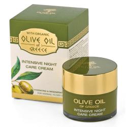 Das ist die Olive Oil of Greece Intensive Nachtcreme von Biofresh aus Bulgarien.
