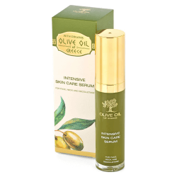 Das ist das Olive Oil of Greece Intensive Skin Care Serum von Biofresh aus Bulgarien.