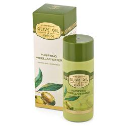 Das ist das Olive Oil of Greece Mizellen Gesichtswasser von Biofresh aus Bulgarien.