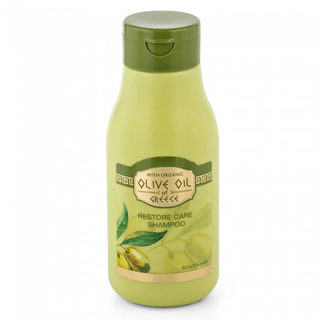Das ist das Olive Oil of Greece Restore Care Shampoo von Biofresh aus Bulgarien.