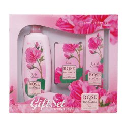 Biofresh Rose of Bulgaria Bodylotion, Seife, Handcreme Geschenkset