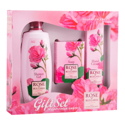 Biofresh Rose of Bulgaria Duschgel, Seife, Handcreme Geschenkset