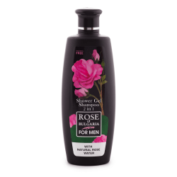 Biofresh Rose of Bulgaria for Men 2in1 Duschgel & Shampoo