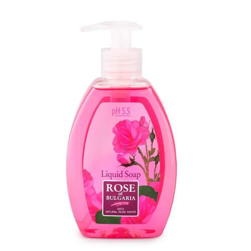Biofresh Rose of Bulgaria Natürliche Flüssigseife Rose