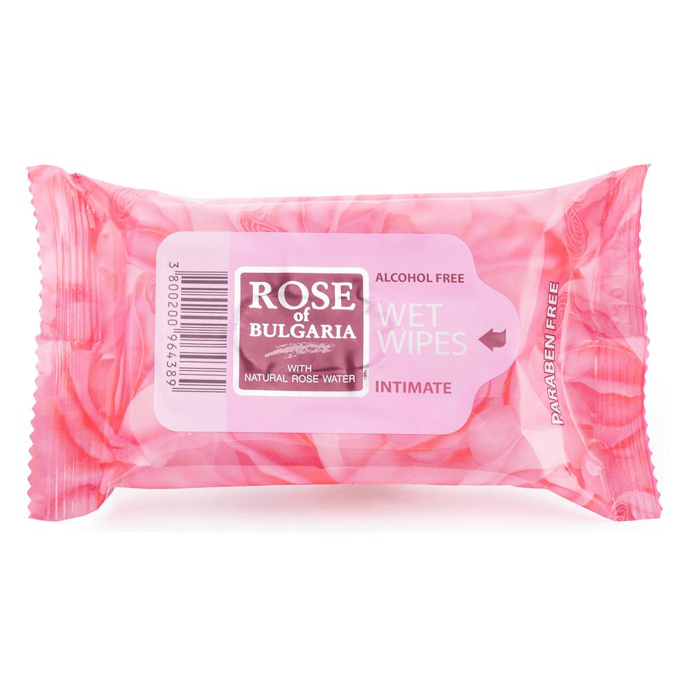 Biofresh Rose of Bulgaria Feuchttücher Intimate