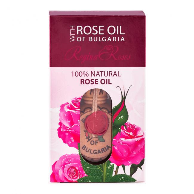 Biofresh Rose Oil of Bulgaria 100% Natürliches Rosenöl 1.2 ml Amphore