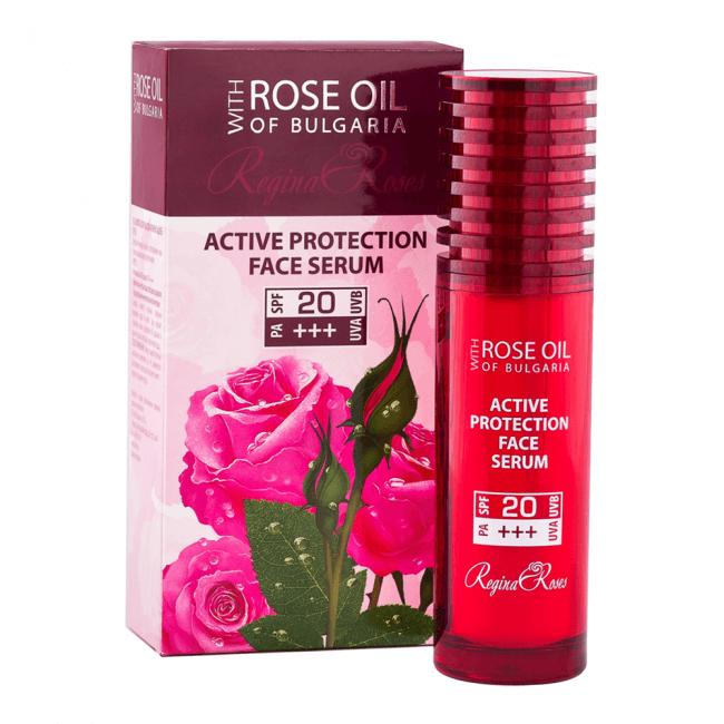 Biofresh Rose Oil of Bulgaria Aktiv Schützendes SPF 20 Gesichtsserum