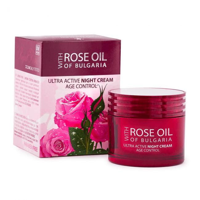 Biofresh Rose Oil of Bulgaria Ultra Active Nachtcreme