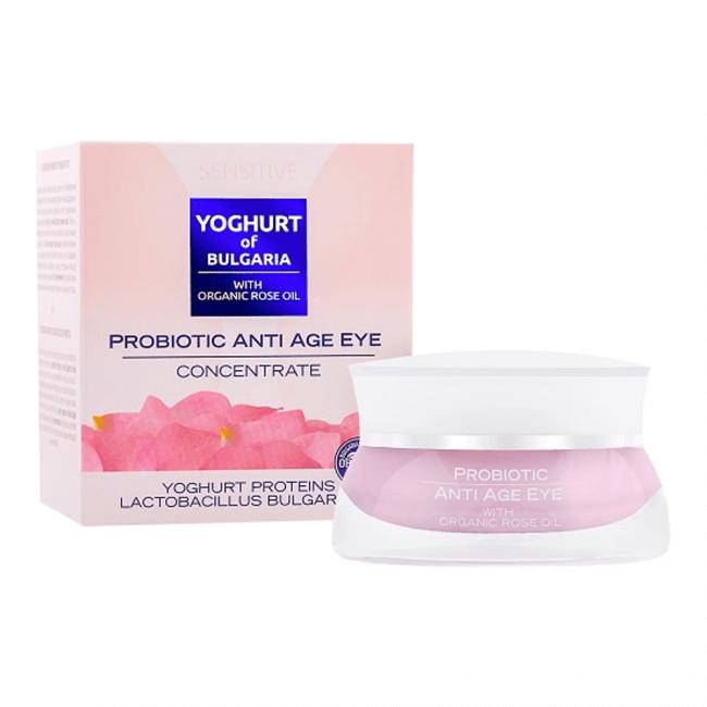 Biofresh Yoghurt of Bulgaria Organic Rose Oil Anti Age Augenkonzentrat