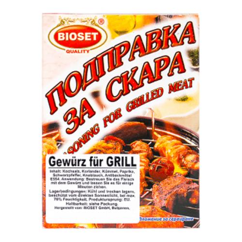 Bioset bulgarisches Gewürz für den Grill 45g