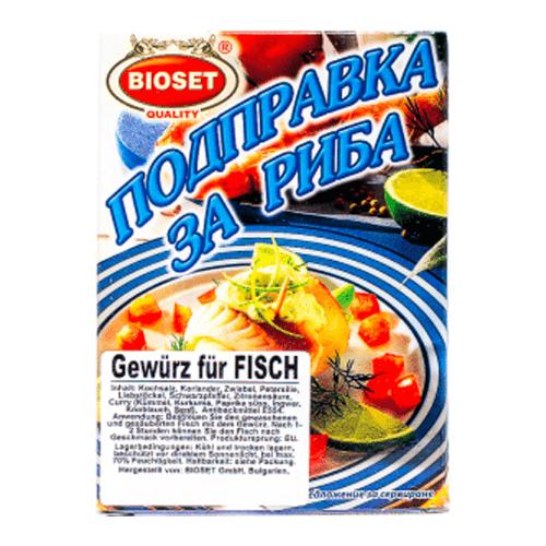 Bioset Gewürz für Fisch 40g
