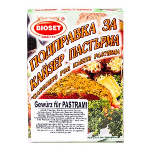 Bioset bulgarisches Gewürz für Pastrami