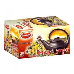 Bioset Tee Frischer Morgen 30g