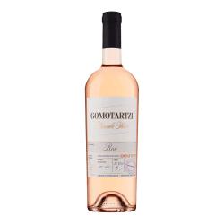 Ein bulgarischer Bononia Gomotartzi Cabernet Franc Rose Wein aus der Donauebene.