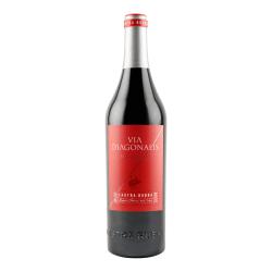Castra Rubra Via Diagonalis Selected Red aus den Reben Merlot, Cabernet Sauvignon, Rubin, Mavrud.