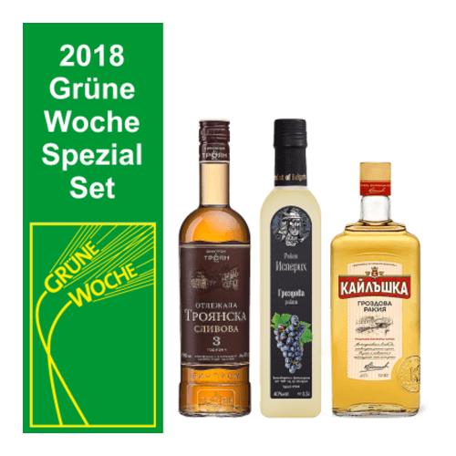 Grüne Woche Rakija Set Sliwowitz