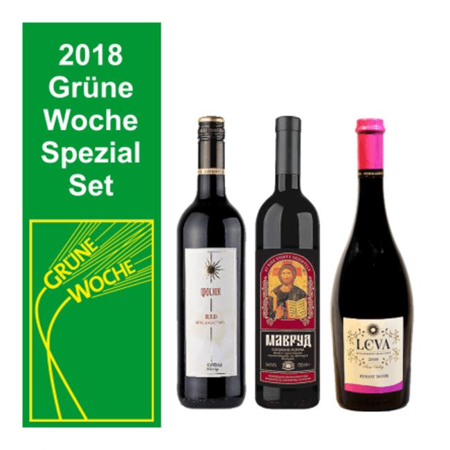 Grüne Woche Rotwein Set Mavrud