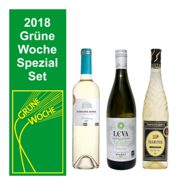 Grüne Woche Weisswein Set Traminer