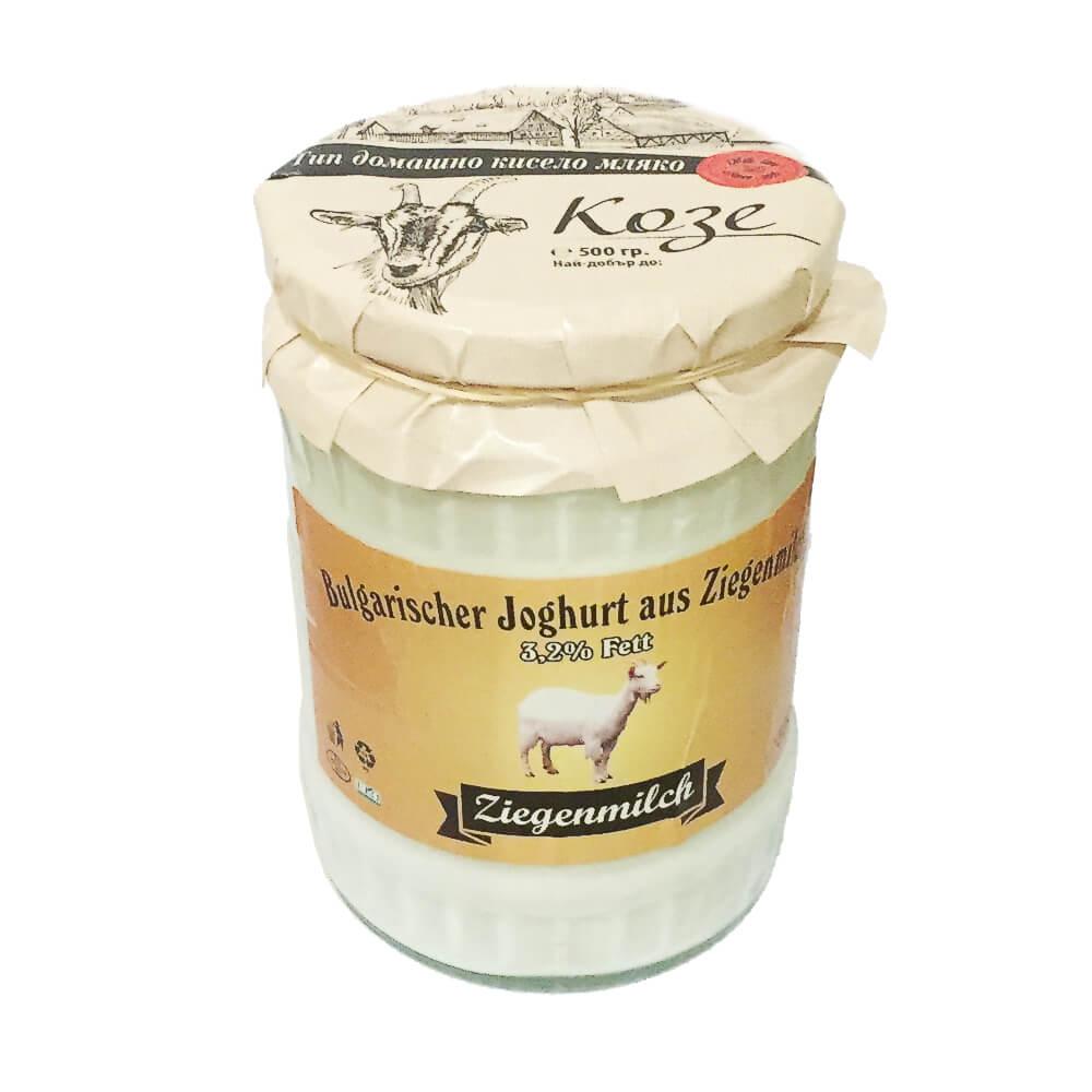 Josi Bulgarischer Joghurt aus Ziegenmilch 500g