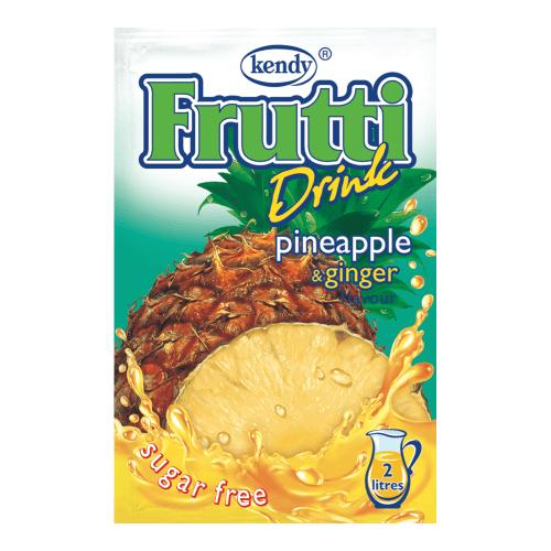 Kendy Frutti Drink Instant Getränkepulver Ananas Ingwer