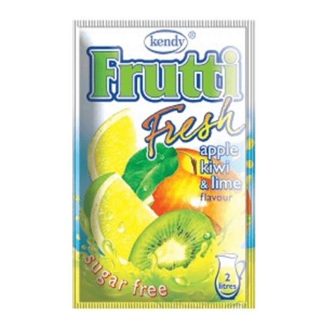 Kendy Frutti Drink Instant Getränkepulver Apfel Kiwi Limone