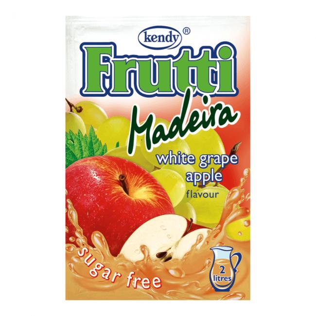 Kendy Frutti Drink Instant Getränkepulver weiße Traube Apfel Madeira