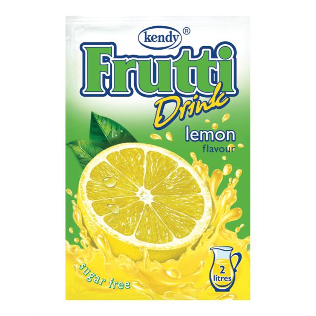 Kendy Frutti Drink Instant Getränkepulver Zitrone