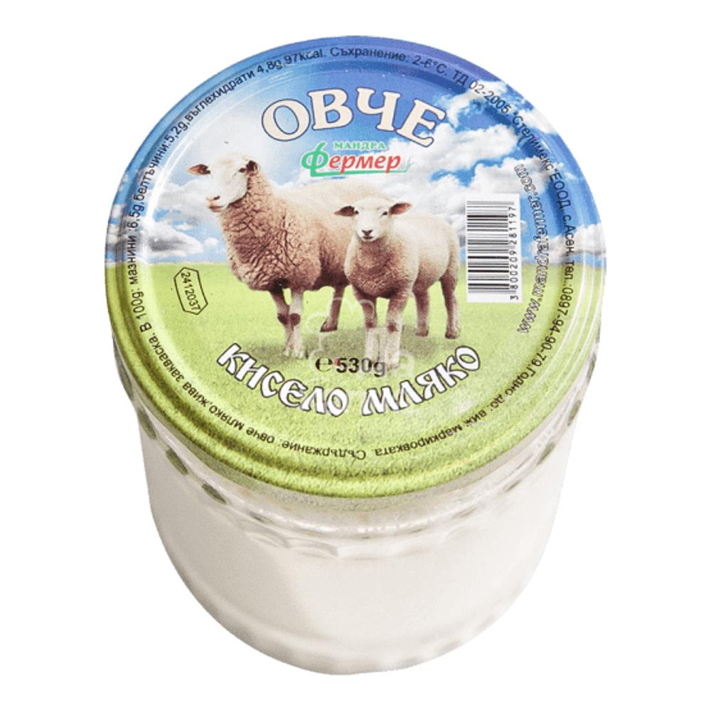 Mandra Fermer Bulgarischer Joghurt aus Schafsmilch