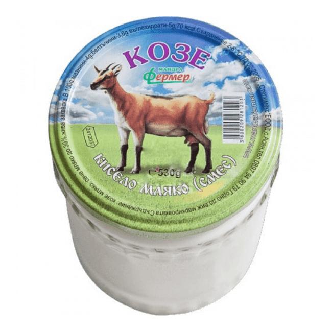 Mandra Fermer Joghurt aus Ziegenmilch