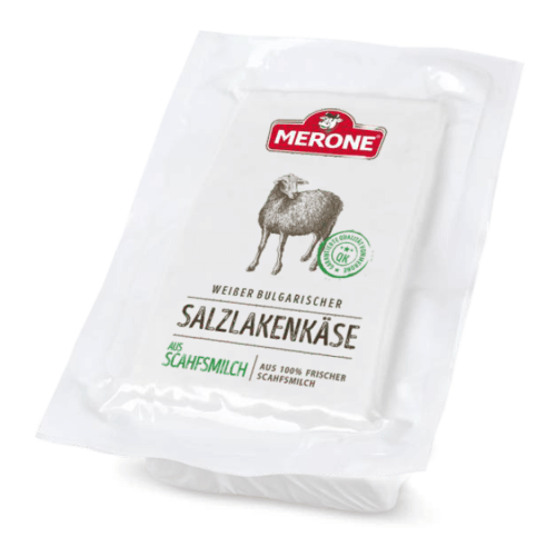 Merone Bulgarischer Schafsmilch Salzlakenkäse Sirene