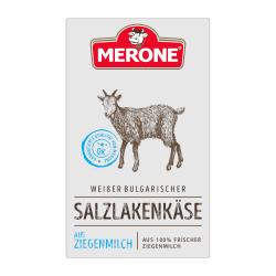 Merone Bulgarischer Ziegenmilch Salzlakenkäse Sirene