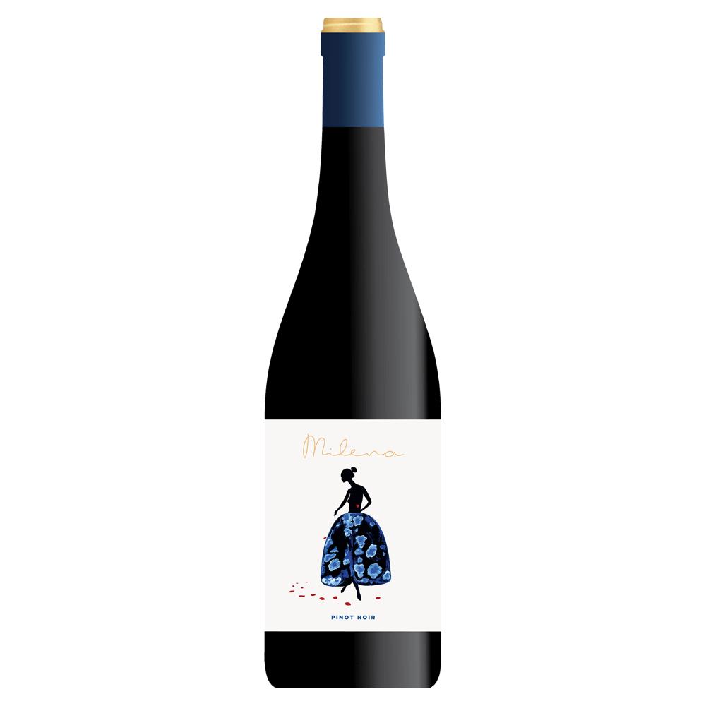 Milena Pinot Noir aus der Donauebene in Bulgarien.