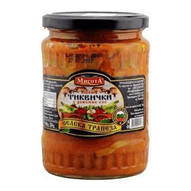 Misota Gebratene Zucchini in Tomatensauce 540g