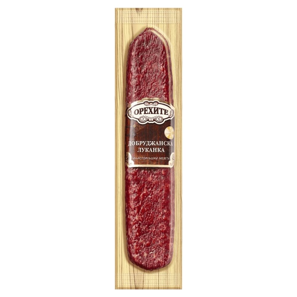 orehite dobrudanska lukanka 180g von bella food company.