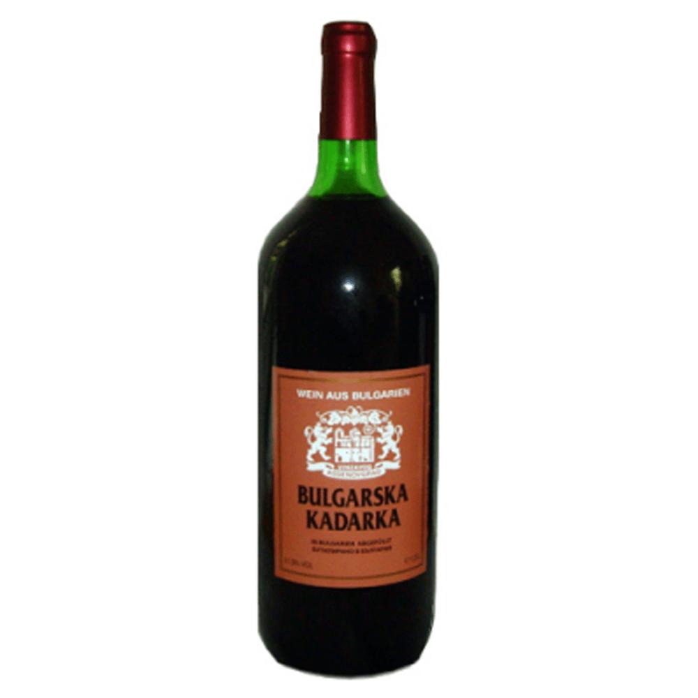 Original Bulgarischer Kadarka Magnum lieblich Rosenthaler Kadarka aus der Donauebene in Bulgarien.
