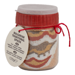 Original traditionelles Buntes Salz Scharena Sol Motiv 1