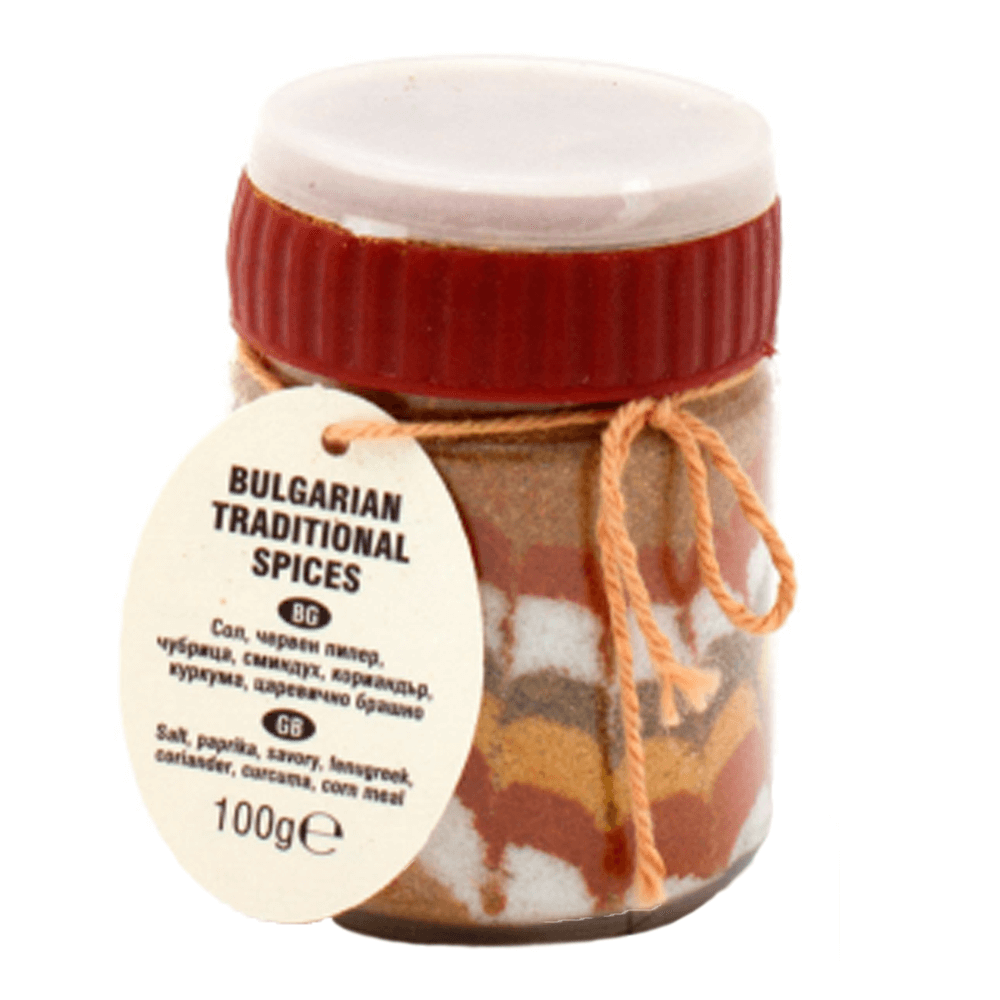 Original traditionelles Buntes Salz Scharena Sol Motiv 4