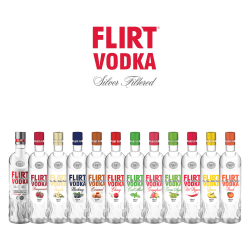 VP Brands Flirt Vodka Flavors Set