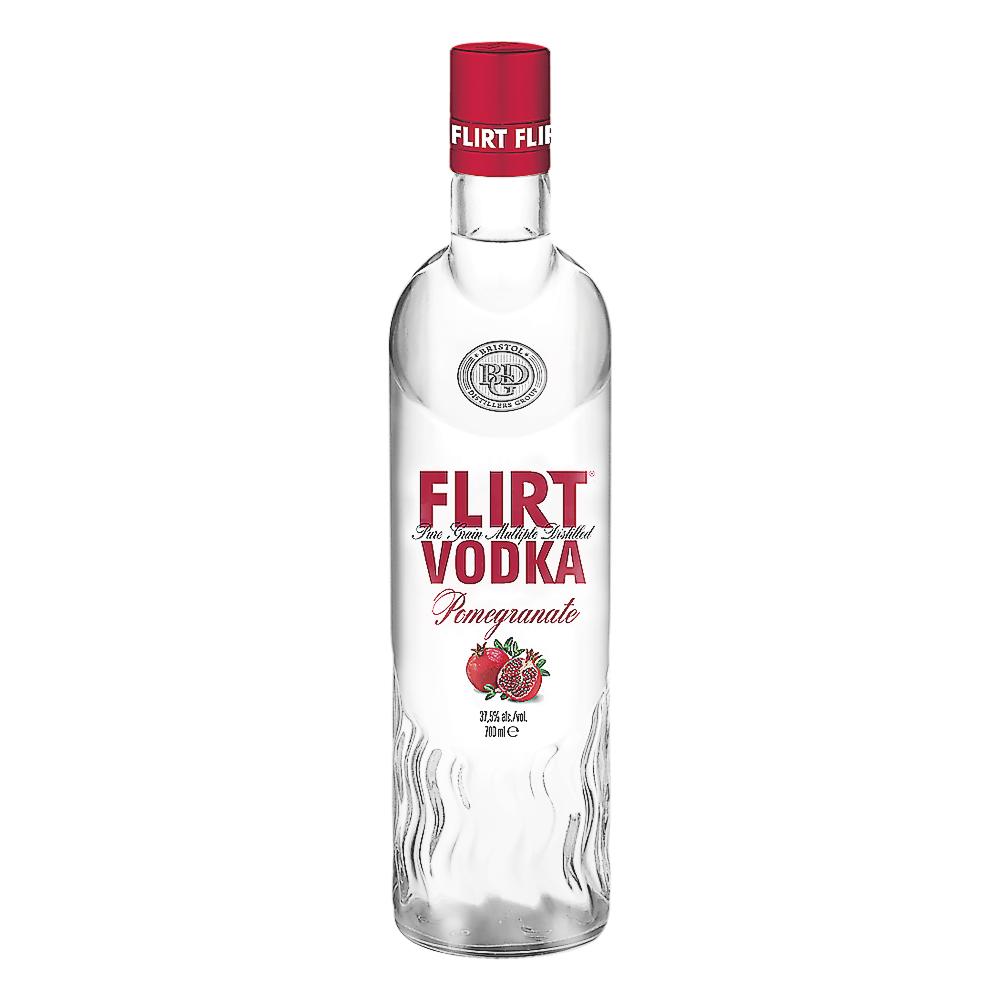 VP Brands Flirt Vodka Pomegranate