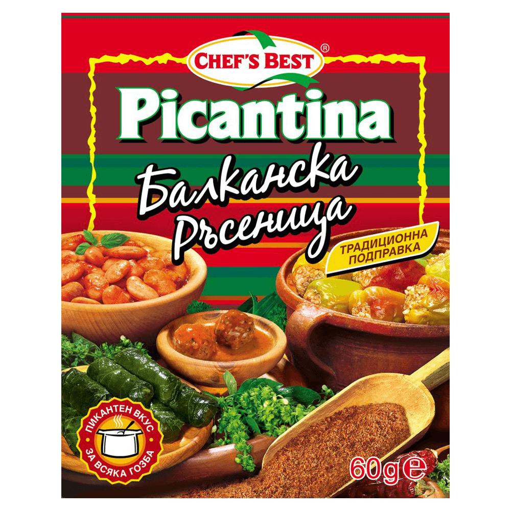 Picantina Chefs Best Balkanska Rasenitsa Gewürzmischung